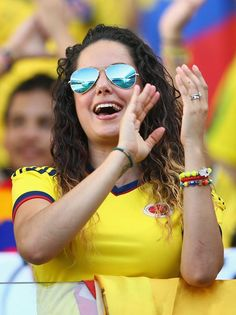 Photogenic fans of the World Cup - Day 13