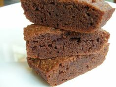 Easily Good Eats: Daim Chocolate Ginger Brownies - These chocolate ginger brownies are not as gooey and chewy like most brownies, they are more like a dense rich cake. But very delicious. I used more ginger than recommended in the recipe.