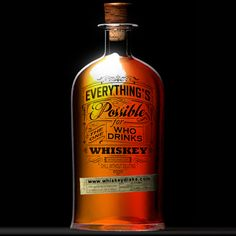 Everything's possible.   #bourbon #whiskey