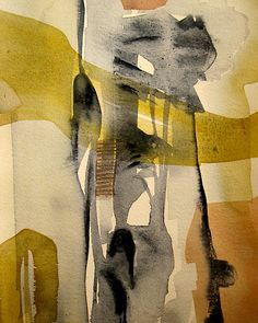 "May Hege Rygel, ""Only Abstract"", watercolor"
