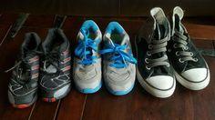 Boys Athletic Shoes Nike Adidas Converse Allstar Sneakers 9 10 11 Great! #NikeAdidasconverseallstar #Athletic