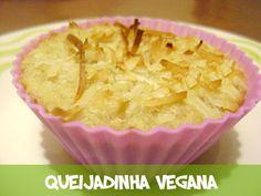 Queijadinha vegana #doces #vegans #veganrecipe #recipes #veganfood