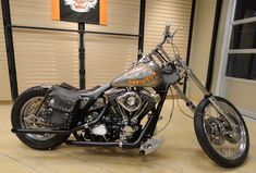 Harley-Davidson and the Marlboro Man Bike at Loess H-D on Bikernet
