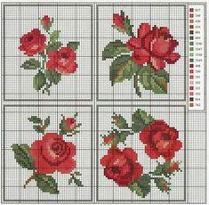miniature needlework charts
