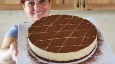TORTA MOUSSE AL CAFFE' Ricetta Facile - FATTO IN CASA DA BENEDETTA - YouTube Ricotta, Coffee Mousse, Choco Chocolate, French Cake, Sweet Cooking, Sin Gluten, No Bake Desserts, Cake Cookies, Nutella