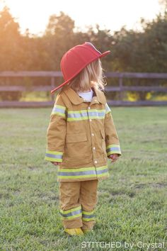STITCHED by Crystal: Tutorial - Fireman Coat
