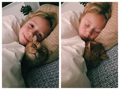 Buddy bedtime... and then one minute later