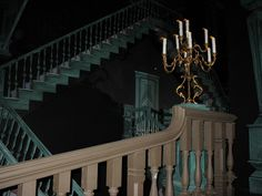 "The Haunted Mansion, ""Escher room""."