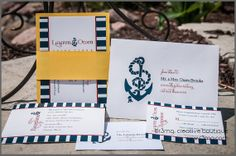 Ahoy Nautical Wedding Invitation Set  SAMPLE SET  Silver by r3mg, $7.00