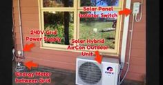 Instead of fancy new technology, it's all about combining improved efficiency with low cost solar panels.For over a decade we have been writing about how solar powered air conditioning was the holy … Diy Generator, Homemade Generator, Solar Water Heater, Water Heating, Solar Panel Installation, Solar Panels, Landscape Arquitecture, Solar Powered Lamp, Advantages Of Solar Energy