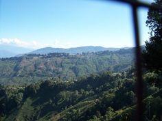 view from MHS, Darjeeling