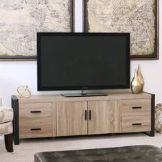 driftwood tv stand - Google Search