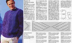 мужские свитера спицами схемы и описание: 26 тыс изображений найдено в Яндекс.Картинках