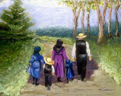Choosing Amish by Gloria Adrian