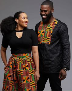 ankara mode Couples showcase their romantic relationship with beautiful and colourful Ankara outfits., you'll see how lovely couples look in Matching Ankara Outfits. Couples African Outfits, African Clothing For Men, African Men Fashion, African Attire, African Wear, African Fashion Dresses, African Dress, Ankara Fashion, Ghana Fashion