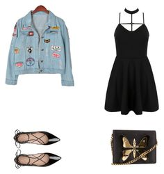 """Untitled #921"" by aatk on Polyvore featuring WithChic, Kate Spade, Gucci and Chicnova Fashion"