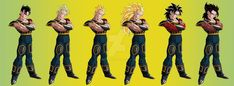 Hi there ^^ Well, this is a gift for the group Dragon Ball Saiyan Wars ([link]) of Kental in all his forms. Kental all forms All Anime, Anime Art, Mc 12, Drawing Skills, Dbz, Goku, Great Friends, Hello Everyone, Dragon Ball Z