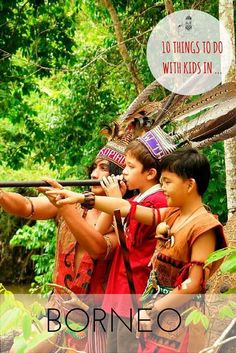 10 Things to do with Kids in Borneo. We pick our top 10 activities for families…