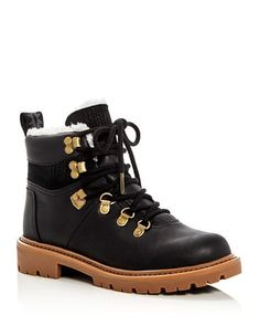 """30 Winter Boots That Are Cute & Practical #refinery29  http://www.refinery29.com/best-winter-boots#slide-26  For these, use the always-justifiable excuse, """"It's for a good cause.""""Toms Summit Waterproof Hiking Booties, $149, available at Bloomingdales...."""