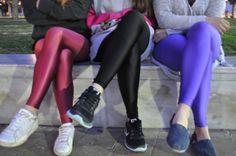 The cherry & black & purple PCP leggings