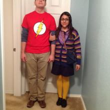 Oh my! Awesomeness!! Great couple Halloween costumes