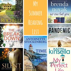 The Book Worm: My Summer 2017 Reading List