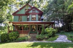 CLICK PIC for more photos of this 1904 Appalachian Victorian For Sale In Asheville North Carolina --- http://www.captivatinghouses.com/2018/07/12/1904-appalachian-victorian-for-sale-in-asheville-north-carolina/