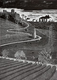 Picture Lino Print Artists, Lino Art, Linocut Prints, Wood Blocks, Printmaking, Joan Mitchell, Etchings, Block Prints, Abstract