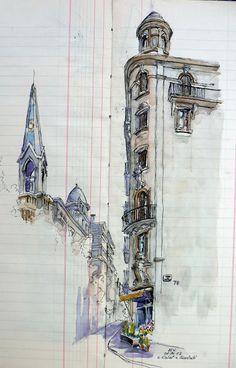 Urban Sketchers Spain. El mundo dibujo a dibujo.: barcelona