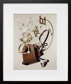 Apart Wind-Up Clock, by Todd McLellan | 20x200