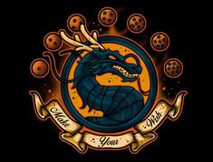 A Dragon Ball t-shirt. Art by Daniele Quartu aka Letter-Q. Show everyone that you are a fan of Dragon Ball with this t-shirt. Dragon Shenlong, Dragon Ball Z, Pokemon, Ball Drawing, Ufo, Graphic Artwork, Skull Art, Anime Comics, Anime Art
