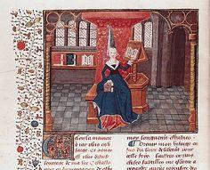 Estuvo implicada en la primera polémica literaria francesa, con lo que algunos consideran un rudimentario manifiesto de movimiento feminista. Escribió varias obras en prosa defendiendo a las mujeres frente a las calumnias de Jean de Meung en el Roman de la Rose incluyen: La Epístola al Dios de Amores (L'Épistre au Dieu d'amours) (1399) y suDicho de la Rosa (Dit de la Rose) (1402), critican la segunda parte delRoman de la Rose escrita por Jean de Meung.
