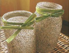 Idee regalo fai da te per il fidanzato: i vasetti di sabbia