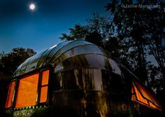 Cool Airstream Night Scene