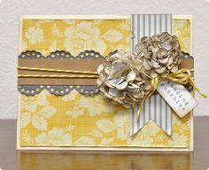 Love this card!!! The colors are lovely and the mix of patterns works really well :)