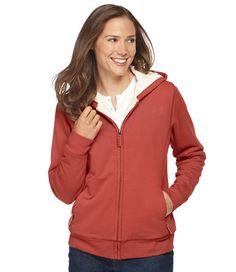 Fleece-Lined Hoodie, Full-Zip: Fleece Tops and Sweatshirts | Free Shipping at L.L.Bean