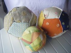 pelotas material reciclado
