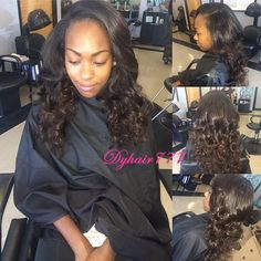 Our clients sharing the details images with Dy Hair ,that's wonderful ! the loose wave hair style is fashionable for girls. Want to have a try? Hair info: Peruvian loose wave 16 18 20 #dyhair777 #humanhair #virginhair #hairextension #hairstyle #Peruvianhair #loosewave #fashion #beautiful #salon #hair