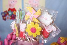 Detalhes de biscoitos decorados personalizados