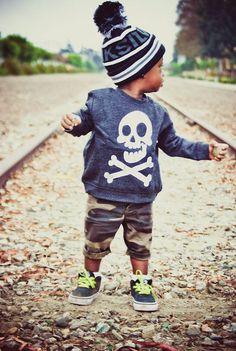 Cool little dude!