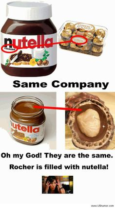 A funny fact about nutella US Humor - Funny pictures, Quotes, Pics, Photos, Images