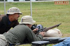 The Vintage Sniper Match is a team event fired from sandbags at 300 and 600 yards.