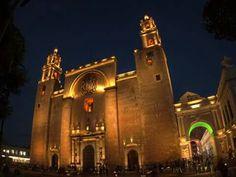 Catedral de San Ildefonso en Mérida, Yucatán