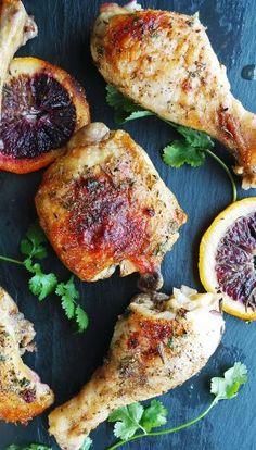 One-Pan Herb & Citrus Roast Chicken
