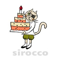 Today is her friends birthday! She made the big cake for dear friend! In the night she will go the party! Cat Cat, Cats, Big Cakes, Friend Birthday, Dear Friend, Snoopy, Night, Friends, Sweet