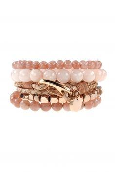 rose rush armband kombination combination #nude #beige mondstein jade #newone