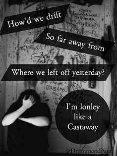Castaway - 5sos - @DrummerxDani
