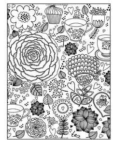 Enchanting English Garden An Inkcredible Scavenger Hunt And Coloring Book HR Wallace Publishing