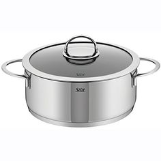WMF 91.0320.6066 Vignola High Casserole with Lid, 4-Quart, Silver > Check this awesome image : bakeware
