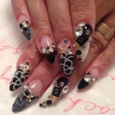 #nail #nailart #nailswag #nailsbyayako #thatnaillifetho #tweed #5